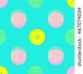 Circle Pattern. Repeating Dots...