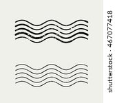 grunge wave stamp vector  ...   Shutterstock .eps vector #467077418