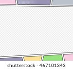 vector mock up of a typical... | Shutterstock .eps vector #467101343