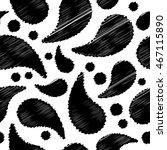 ethnic boho seamless pattern... | Shutterstock .eps vector #467115890