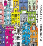 bright colors city   Shutterstock .eps vector #467144030