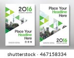 green color scheme with city... | Shutterstock .eps vector #467158334