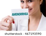 Small photo of Amenorrhea