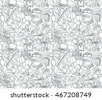 illustration back to school... | Shutterstock . vector #467208749