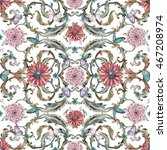 Vintage Seamless Texture With...