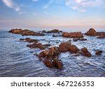 rocks in the water at the east... | Shutterstock . vector #467226353