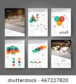 business brochure design... | Shutterstock .eps vector #467227820