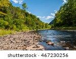 Pine Creek Runs Through The...