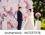 wedding. wedding day. paper... | Shutterstock . vector #467237378