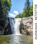 Elk River Falls Waterfall In...
