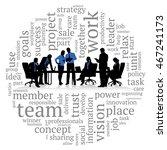 concept business illustration. | Shutterstock .eps vector #467241173