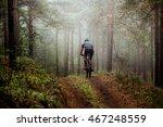Male Athlete Mountainbiker...