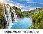 huangguoshu falls | Shutterstock . vector #467281670