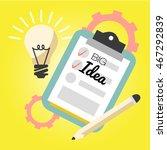business big idea graphic...   Shutterstock .eps vector #467292839