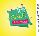 sale banner template and... | Shutterstock .eps vector #467311268