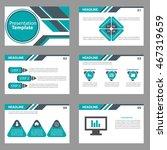 green and black presentation... | Shutterstock .eps vector #467319659