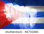 flag of cuba  national symbol... | Shutterstock . vector #46732681
