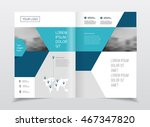 business presentation with... | Shutterstock .eps vector #467347820