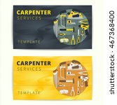 carpenter or repairman service...   Shutterstock .eps vector #467368400