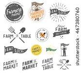 vintage farm and farmers market ...   Shutterstock .eps vector #467380760