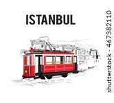 vector illustration railway of... | Shutterstock .eps vector #467382110