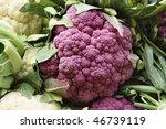 A Pile Of Purple Cauliflower I...