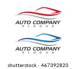 auto car logo template | Shutterstock .eps vector #467392820