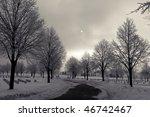 Foggy Winter Morning In Ww2...