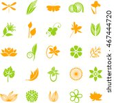colorful organic series | Shutterstock .eps vector #467444720