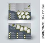 brochure mock up design... | Shutterstock .eps vector #467444753