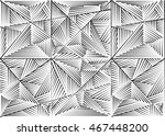 abstract seamless geometrical... | Shutterstock . vector #467448200