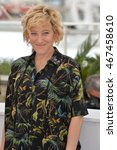 "Small photo of CANNES, FRANCE - MAY 13, 2016: Actress Valeria Bruni Tedeschi at the photocall for ""Slack Bay"" (""Ma Loute"") at the 69th Festival de Cannes."