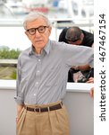 """Small photo of CANNES, FRANCE - MAY 11, 2016: Director Woody Allen at the photocall for """"Cafe Society"""" at the 69th Festival de Cannes."""