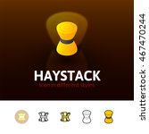 Haystack Color Icon  Vector...