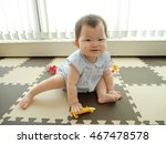 baby playing with toys | Shutterstock . vector #467478578