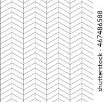 seamless black and white... | Shutterstock .eps vector #467486588
