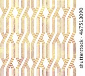 gold geometric stripes ornament ... | Shutterstock .eps vector #467513090