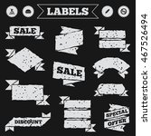 Stickers  Tags And Banners Wit...