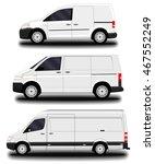 cargo van | Shutterstock .eps vector #467552249
