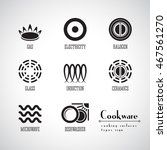 symbols of food grade metal... | Shutterstock .eps vector #467561270
