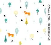 scandinavian geometric seamless ... | Shutterstock .eps vector #467579420