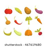 ecological farming production.... | Shutterstock .eps vector #467619680