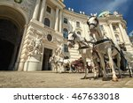 horses and carriage tradition ... | Shutterstock . vector #467633018