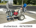 Machine For Road Marking Paint...