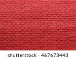 old vintage red brick wall Background, texture