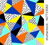saeson sale trendy geometric... | Shutterstock .eps vector #467715083