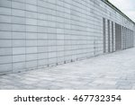 wall and footpath | Shutterstock . vector #467732354