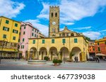 monterosso  italy  march 13 ... | Shutterstock . vector #467739038
