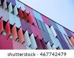 Modern Exterior Of A Colorful...