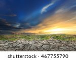 blue sky with white clouds... | Shutterstock . vector #467755790